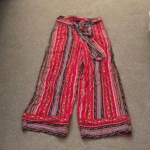 NWT loft wide leg cropped pants
